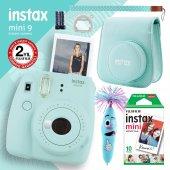 Fujifilm Instax Mini 9 Açık Mavi Fotoğraf Makinesi Ve Hediye Seti 3