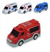 Sürtmeli Kırılmaz Ambulans Eğitici Oyuncak