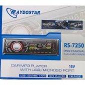 Raydostar Rs 7250 Oto Mp3 Çalar Kalite 4x50 Watt Ücretsiz Kargo