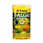 Tropıcal Algae Tablets 250 Ml 340 Adet Bitkisel Çiklet Tropheus Balık Yemi Orjinal Kutusunda