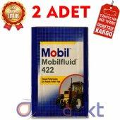 Mobil Fluid 422 16 Kg Yüksek Performanslı Traktör Yağı (2 Adet)