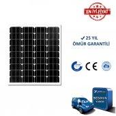 90w Watt Monokristal Güneş Paneli Solar Panel