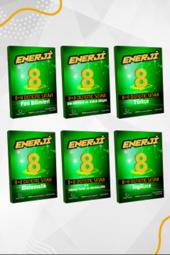 8. Sınıf Enerji Serisi Tüm Dersler 8+8 Deneme Seti Palme Kitabevi