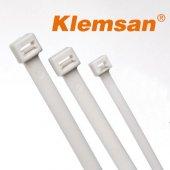 Klemsan 538450b Ykb450 8x450mm Şeffaf Kablo Bağı