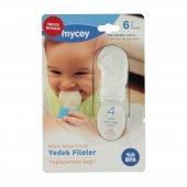 Mycey Tcm05005 Myfeeder Güvenli Meyve Sebze Emziği Yedek File Set