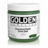 Golden Heavy Body Acrylıc 473 Ml Seri 3 Chrom Oxıdıde Green Dark