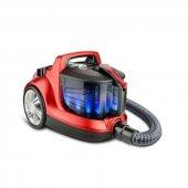 Veyron Turbo Xl Premium Toz Torbasız Kuru Vakum Süpürgesi Kırmızı
