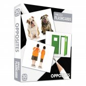 Miracle Flashcards Oppposites Box 30 Cards