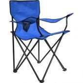 Kamp Sandalyesi Katlanır Tekli Mavi