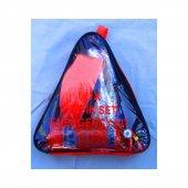 Trafik Seti Bez Çanta (Yönetmeliğe Uygun)1 Litre Cam Suyu Hediyeli