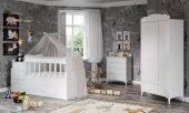 Sansa Buyuyen Bebek Odası Takımı Beyaz