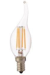 Horoz 4 Watt Led Ampul E14 Duylu 6400k Filament Fl...