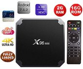 X96 Mini S905w 7 1 4k Ultrahd Android Tv Box 16 Gb Rom 2 Gb Ram