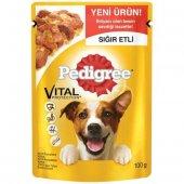 Pedigree Adult Pouch Sığır Etli Yetişkin Köpek Konserve Maması 10