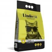 Lindo Cat Bentonit Topaklanan Kokusuz Kalın Taneli Kedi Kumu 15 L