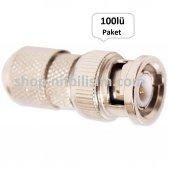Bnc Konnektör 100lü Paket Bnc Connector
