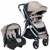 Pierre Cardin Trendy Plus Travel Sistem Bebek Arabası Pc419p Bej