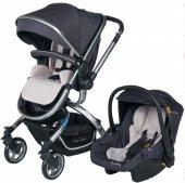 Pierre Cardin Twist Plus Travel Sistem Bebek Arabası Pc405p Füme