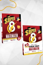 Süper 8. Sınıf Yeni Nesil Matematik Soru + Deneme Seti Nitelik