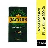 Jacobs Monarch Filtre Kahve 500 Gr 12 Adet