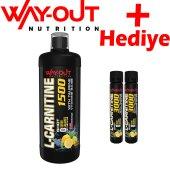 Way Out L Carnitine 1500 Mg 1000 Ml Yağ Yakıcı Karnitin
