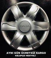 Dacia 15 İnç Jant Kapağı Kelepçe Hediyeli 1.sınıf...