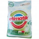 Etimatik Bor Temizlik Toz Deterjan Renkliler Ve Beyazlar 5 Kg