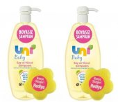 Uni Baby Şampuan 750ml 2 Adet