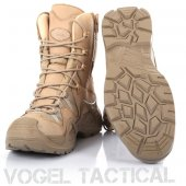 Vogel Tactical Fermuarlı Süet Çöl Rengi Askeri Bot No 43