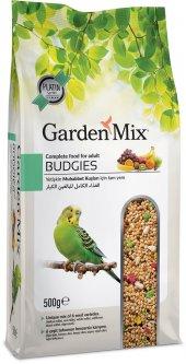 Gardenmix Platin Seri Vitaminli Meyveli Muhabbet Kuşu Yemi 500 Gr (5 Adet)