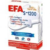 New Life Efa S 1200 Omega 3 45 Kapsül
