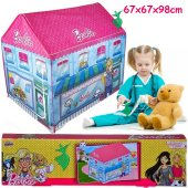 Barbie Veteriner Oyun Çadırı Evi Çocuk Oyun Evi