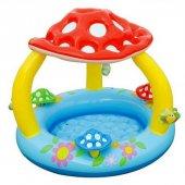 Mantar Gölgelikli Bebe Havuzu