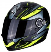 Scorpion Exo 490 Nova Kapalı Motosiklet Kaskı (Siyah Sarı)