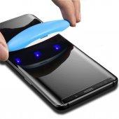 Samsung Galaxy Note 9 Ekran Koruyucu Cam 5d Uv Likit Tam Yapışan