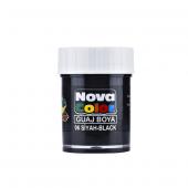Nova Color Guaj Boya Şişe 12 Li Siyah Nc 108