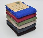 Emre Bambu Kaliteli Yazlık Erkek Çorap (Sıradışı Renkler) 6 Adet