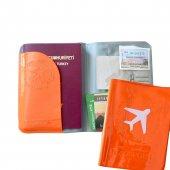 Solaress Pasaport Kılıfı Pasaportluk Seyahat Cüzda...