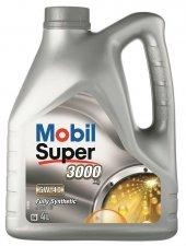 Mobil Super 3000 X1 5w40 Tam Sentetik Benzin Dizel Motor Yağı 4lt