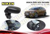 Niken Araca Özel Hyundai İ20 Vidasız Kol Dayama Kolçak Siyah 2015 Üzeri