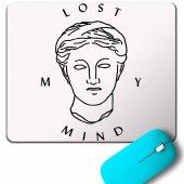 Lost My Mınd Alıce Krıstıansen Mouse Pad
