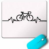 Bıke Pulse Cyclıng Bıcycle Riding Bisiklet Mouse Pad