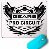 Gears Of War 2 Pro Cırcuıt Logo Mouse Pad