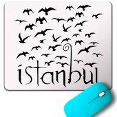 Istanbul Martı Galata Konstantinopolis Osmanlı Mouse Pad