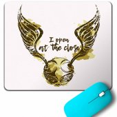 Golden Snıtch Harry Potter I Open At The Close Mouse Pad