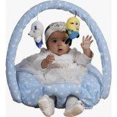 Bebek Oturtma Minderi Yastığı Bebek Oyun Minderi Yatmaz Yastığı