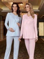 Fantasy Fc652 Bayan 2li Hamile Lohusa Pijama Takımı