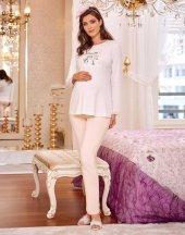 Flz 24 274 Bayan Hamile Lohusa Pijama Takımı