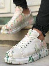 Marqe 2019 Yaz Sezon Beyaz Taban Erkek Ayakkabı Ku...