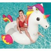 Bestway 41113 Pegasus Pony Tek Boynuz Deniz Yatağı Binici Büyük B